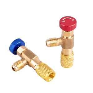 에어컨밸브/프레온밸브/냉매밸브/누출방지밸브/에어컨