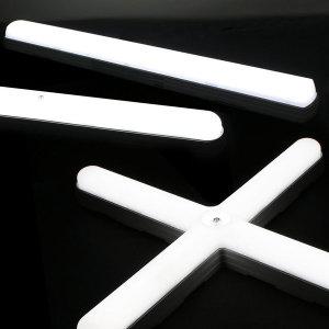 국산 LED형광등/일자등/LED방등/LED전구/LED십자등 21W
