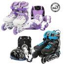 주니어4 콤보세트 인라인스케이트 헬멧 가방 보호대