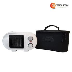 툴콘 온풍기 스탠드형(TP-800D) 전기히터 / 화이트