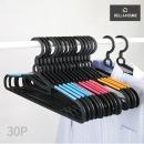 벨라홈  회전형 성인용 논슬립 옷걸이 30P(CN8086)