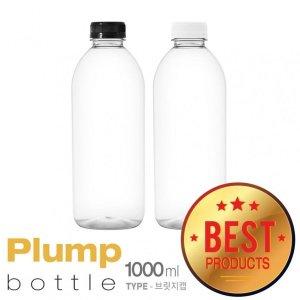 플럼프보틀-1000ml(PET)88개밀크티딸기우유