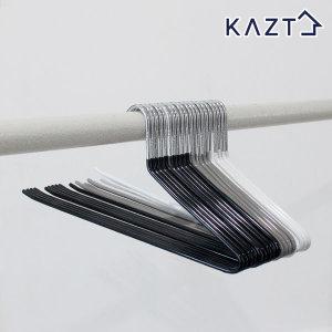 PVC 논슬립 철제 바지걸이 20개 옷걸이 생활용품 수납