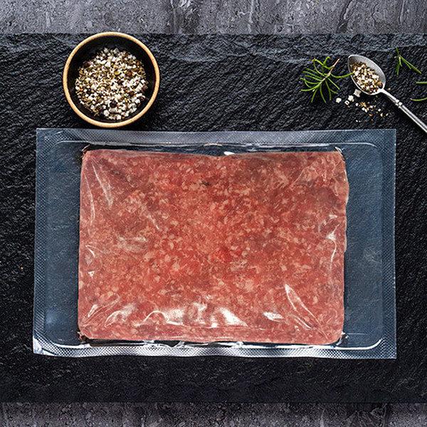 한돈 국내산 돼지 다짐육 600g 냉동 (떡갈비동그랑땡)