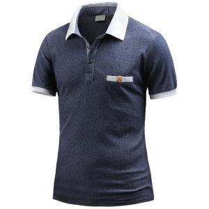 남성 반팔 카라티 뉴어겐페이즐 카라 티셔츠 _ts3391