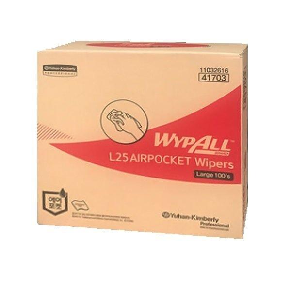 유한킴벌리 와이프올 L25 와이퍼 대형 100매 41703
