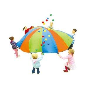 3.05m 유치원 체육활동 낙하산 협동놀이 장난감헬스