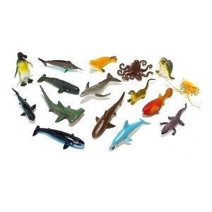 리얼 미니어처 물고기모형 아동교구세트 아동수집품