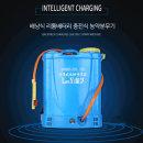 충전식 전동분무기 압축 고압 농약 살포기 분사기 18L
