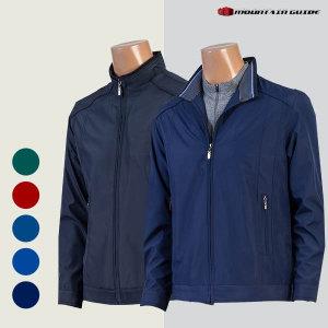 (마운틴가이드)  마운틴가이드 봄 가을 등산복/단체복/남성 베이직 기획 골프점퍼 JPM-J201-001