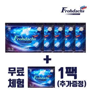 프로닥스 시트 세탁세제 더블액션 75매(총5팩)+무료1팩