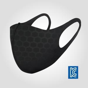 세븐윙스 KC인증 3D항균/방진/탈취 마스크 블랙화이트