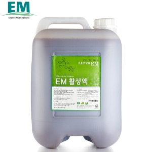 EM 활성액 20리터 /정품 발효액/이엠/세제/효소/용액