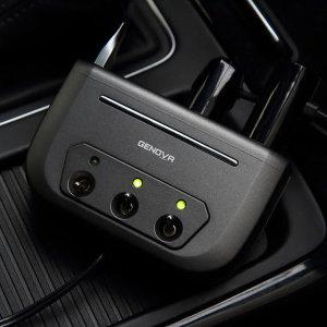 차량 자동차 시가잭 시거잭 USB 스위치 3구 멀티 소켓