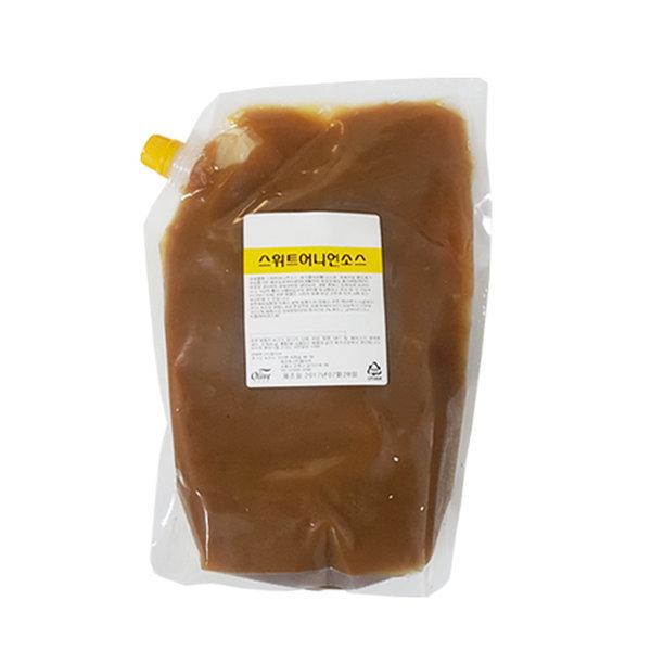 스위트 어니언소스 2kg 대용량 샐러드 샌드위치 소스