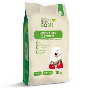 건강다이어트 10kg 애완견사료 비만견사료 개사료