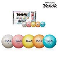 볼빅-정품  볼빅 SOLICE (솔리체) 골프공 컬러볼  3
