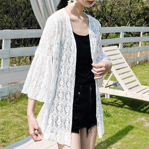 레이스 시스루  로브가디건 여성 여름 비치 바캉스룩