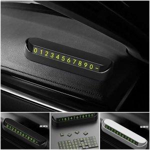 자동차 주차 번호판 차량 용 전화번호 핸드폰 번호
