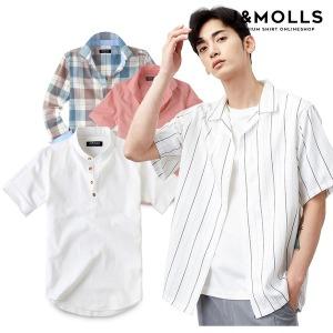 여름X신상 인기 남성 남자 반팔 셔츠 남방 와이셔츠
