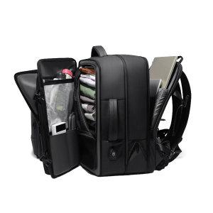 확장형 PVC코팅 17인치노트북백팩 여행용백팩 활용