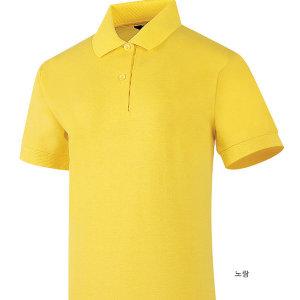 UDT158/노랑색/40수면PK/여성용/여자/카라/반팔티셔츠