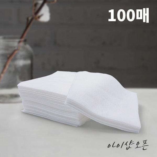 뷰티클렌징시트/일회용해면(100매)