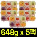 (무배) 어솔티드 푸딩 믹스 648g(108g x 6개) x 5팩