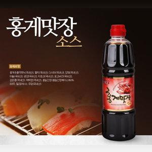 홍일식품 홍게맛장소스 900ml 2개 천연조미료