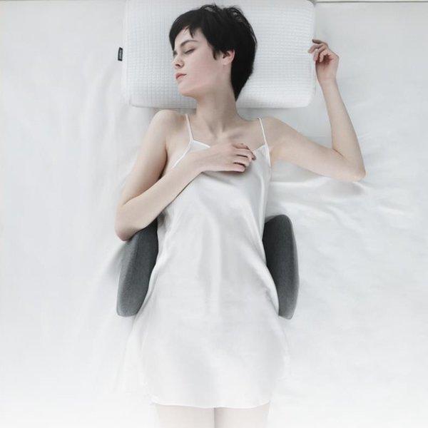 허리베개 허리디스크 요통 숙면 자세교정 메모리폼