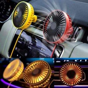 차량용 LED 써큘레이터/USB/송풍구/선풍기/공기순환기