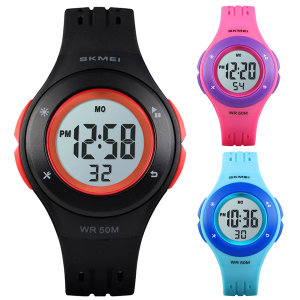 5기압 방수 어린이 초등학생 전자 손목시계 SKME 1455