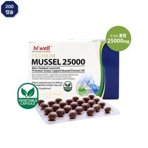 하이웰 프리미엄 머슬 25000 초록입홍합 오일 200캡슐