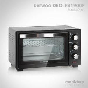 DEO-FB1900F 전기오븐/가정용 그릴망 컨벡션 19L_블랙