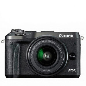 캐논 정품 EOS M6 + 15-45 IS STM 번들킷 / SN