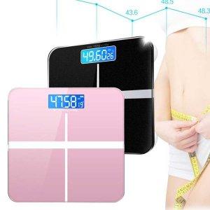 컬러 디지털 체중계 백라이트 건전지포함 스마트체중