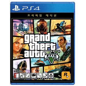 PS4 GTA5 프리미엄 에디션 / 한글판 / 새상품