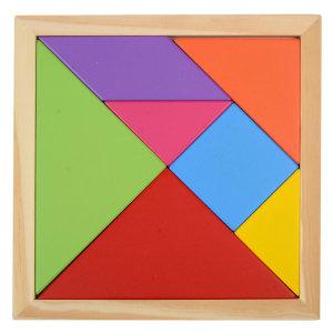 원목칠교(대) 칠교퍼즐 학습교재 칠교조각 퍼즐