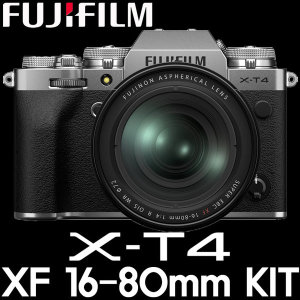 WM 정품 후지필름 X-T4/XF 16-80mm KIT (64G+LCD필름)