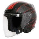그라비티 G-7 블랙 레드 오픈페이스 헬멧 용품 배달 퀵