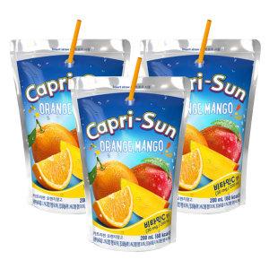 카프리썬 오렌지망고 200ml x 30봉 / 주스 쥬스