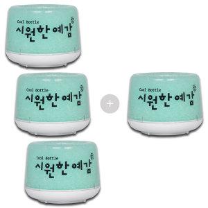 쿨보틀 캔맥주 음료 소주 보틀쿨러 보냉기 에메랄드4개