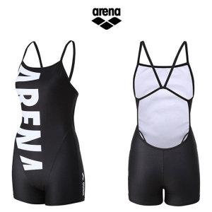 여성 선수 2부반신 수영복(연습복) AUSCL22BLK