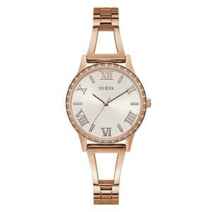 (연예인 착용) 크리스탈 로즈골드 루시 (W1208L3) 여성용 시계