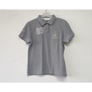 빈폴 면 카라넥 반팔 티셔츠 95/여/A/명품슈슈