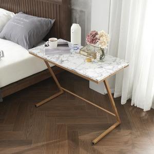 WELL 사이드 테이블 800 대리석 무늬 쇼파 침대 협탁