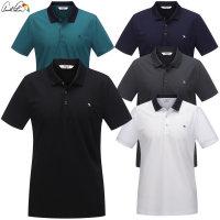 남성 폴리 잔조직 카라 티셔츠 AMM0KLL2 골프