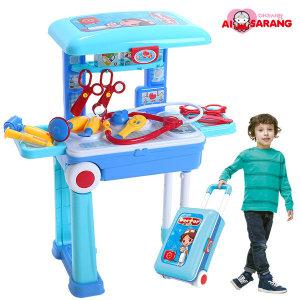 아이사랑 캐리어 병원놀이세트 역할 장난감 선물