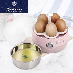 로얄에식스 전기 계란 찜기 달걀 에그 쿠커 스티머