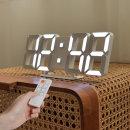 퓨어 30cm 슬림형 LED 벽시계 (M) 무선 리모컨 3D
